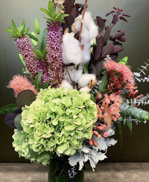 Natural Design Vase Arrangement