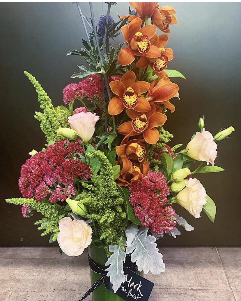 Autumn Tones presented in Vase
